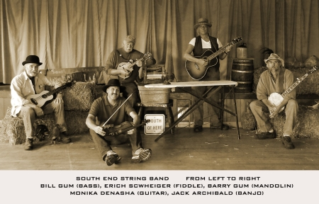 SOUTH END STRING BAND   IN GRANGE HALL