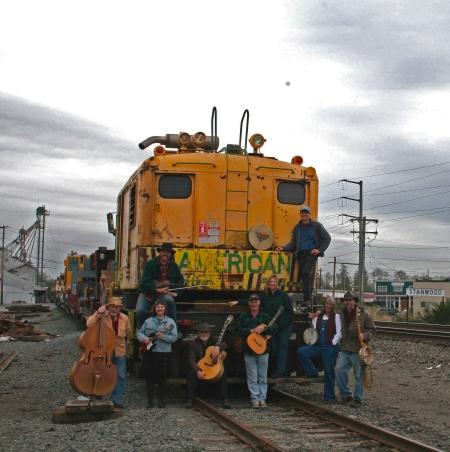 band on train